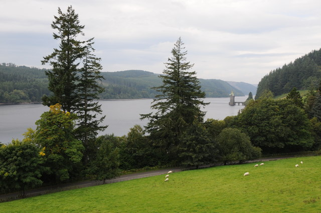View over Lake Vyrnwy