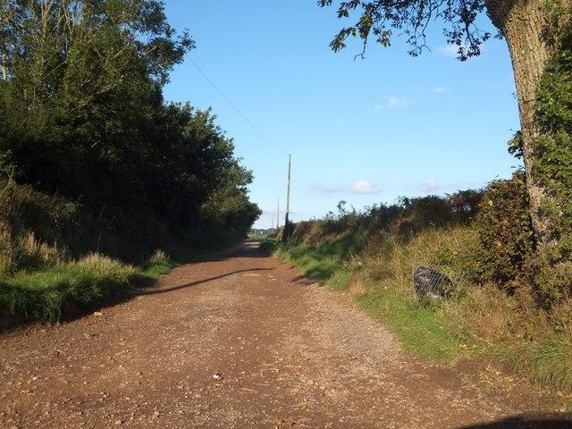 Rashleigh Lane from Crossgate