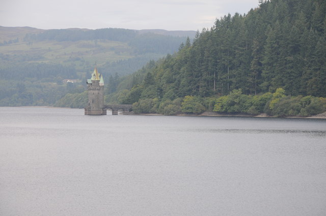 Lake Vyrnwy and the Straining Tower