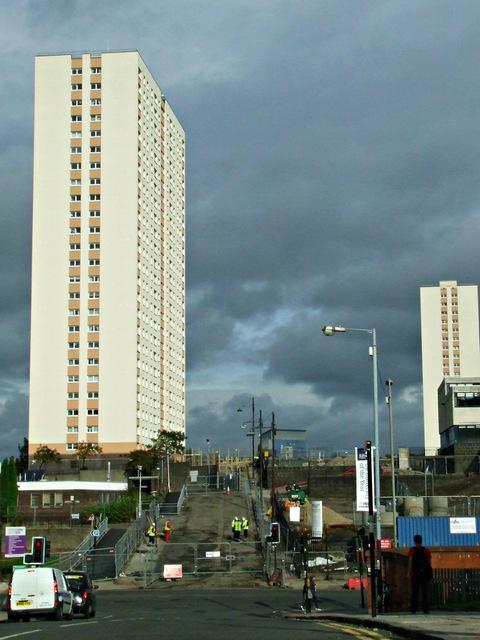 Towerblock on Grafton Place