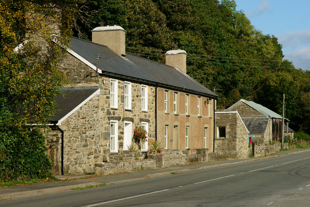 Cottages at Bwlch-y-moch