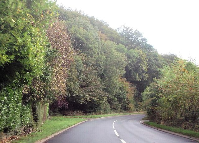 A496 at track to Pen-y-bryn