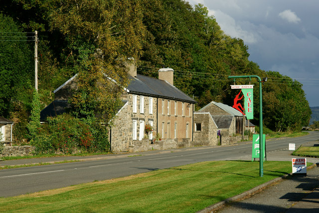 Café and Cottages at Bwlch-y-moch