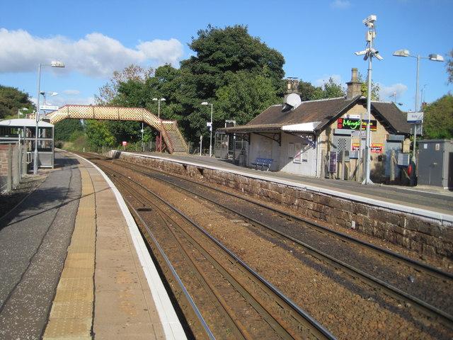 Busby railway station, East Renfrewshire