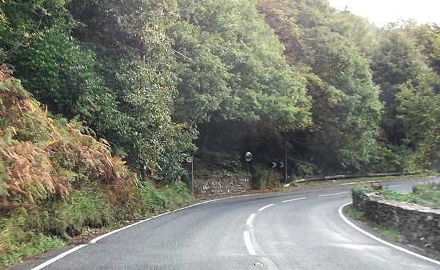 A496 at Maes-y-garnedd
