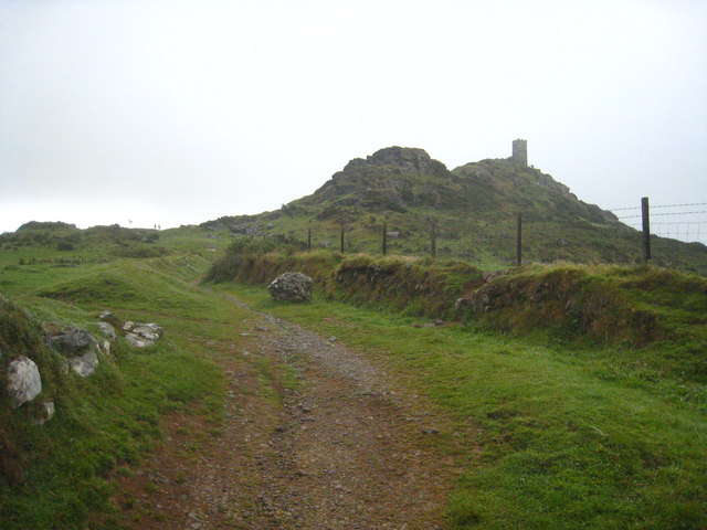 The path to Brent Tor