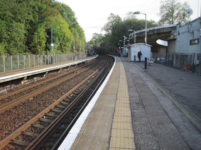 Clarkston railway station, South Lanarkshire