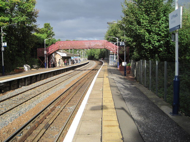 Giffnock railway station, East Renfrewshire
