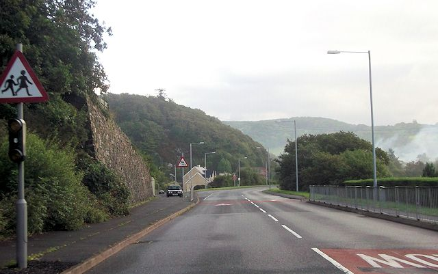 A496 through Llanelltyd