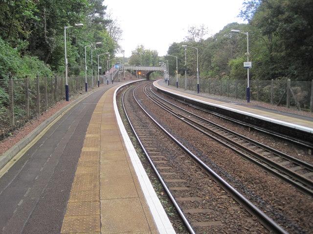 Thornliebank railway station, East Renfrewshire