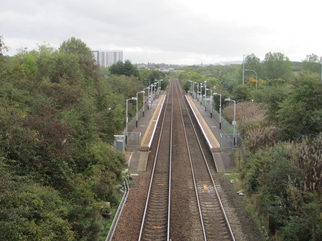 Priesthill & Darnley railway station, Glasgow