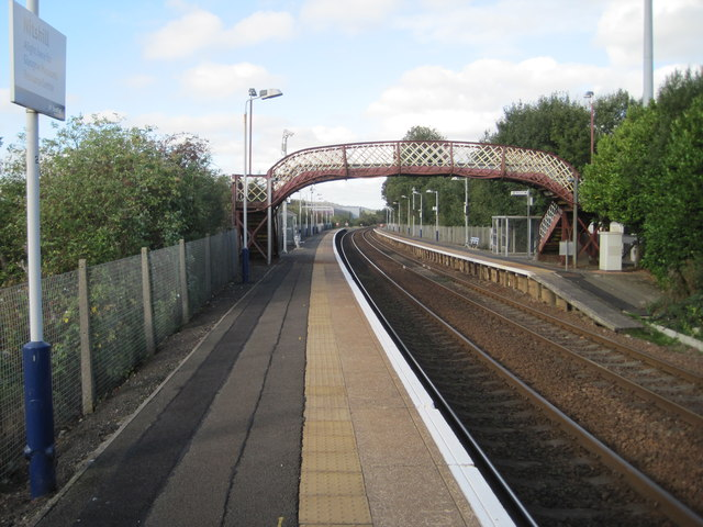 Nitshill railway station, Glasgow