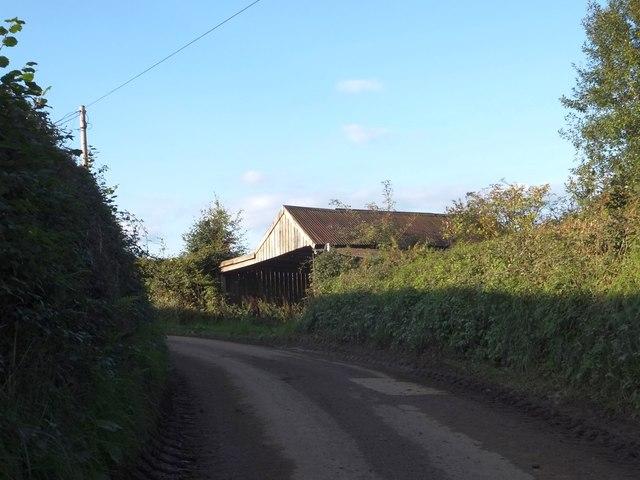 Barn north of Gosse's Farm