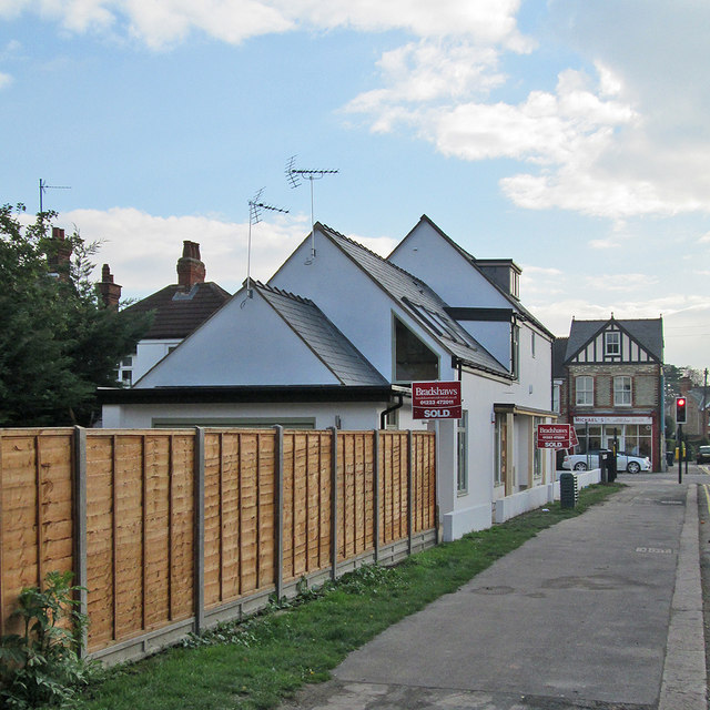 Coleridge Road: flats finished and sold