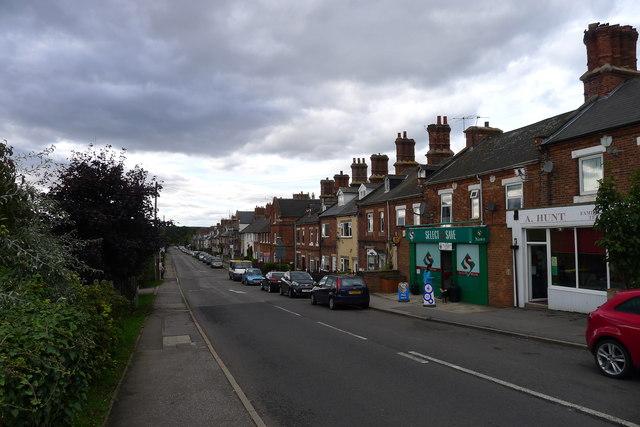 Shireoaks Row