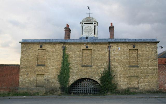 Weedon Bec - depot entrance