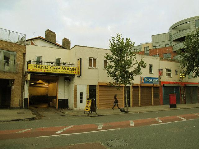 Hand car wash, Grange Road, Bermondsey