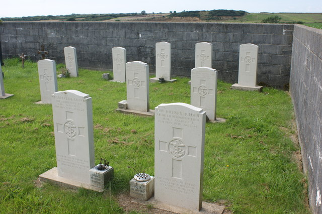 Extension to the graveyard of Brawdy church