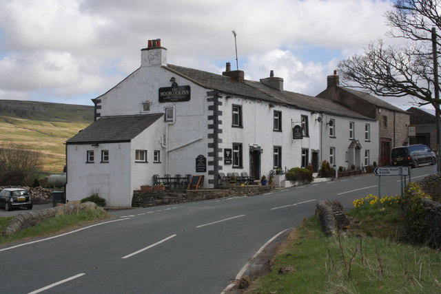 The Moorcock Inn at the A684/B6259 junction