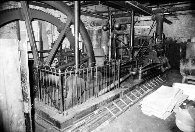 Keathbank Works - steam engine