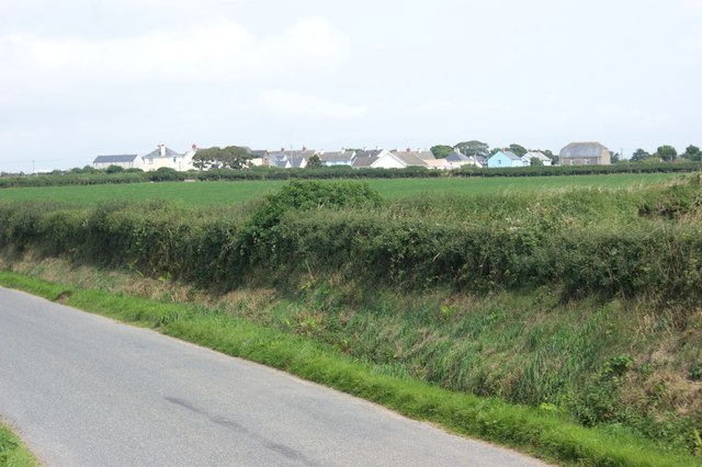 View of Trefgarn Owen from the Brawdy road