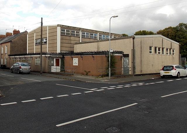 Work Programme centre in Crindau, Newport