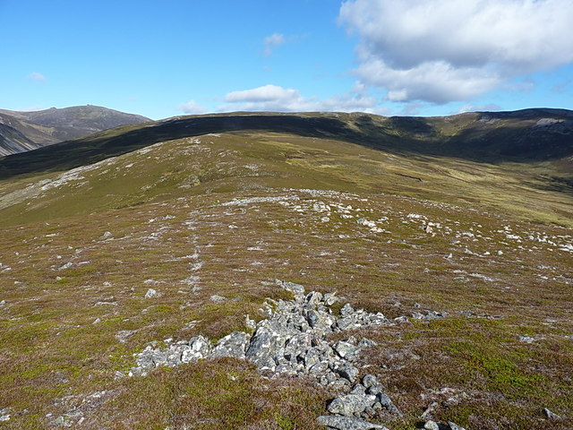 Towards Meall Glasail Beag