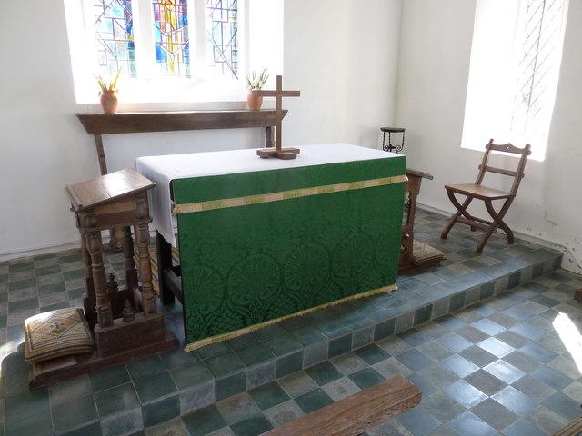 Inside St John the Baptist, Fishpond Bottom (k)