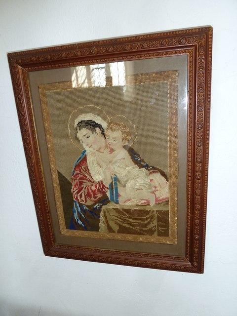 St John the Baptist, Fishpond Bottom: Madonna & Child