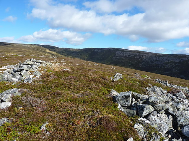 Towards Carn Liath from Meall Glasail Beag