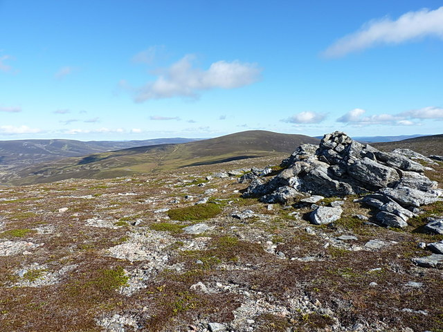 Towards Culardoch from Creag an Dail Bheag