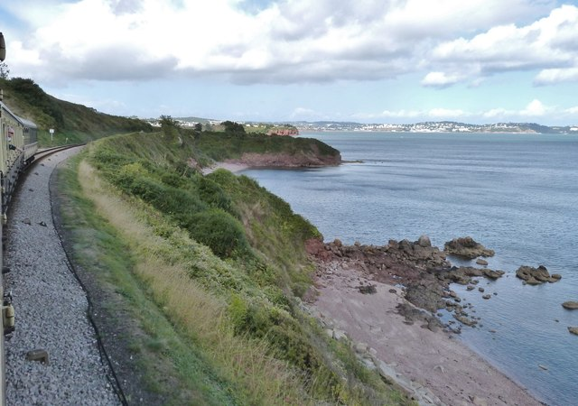 Shell Cove and Saltern Cove, Torbay, Devon