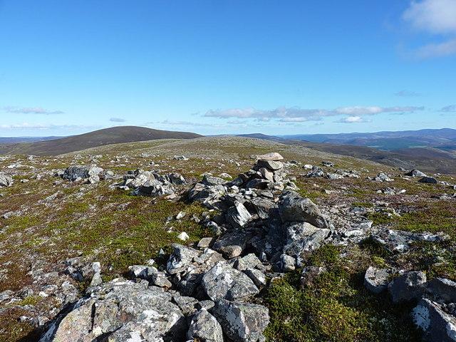 Summit cairn - Carn Liath