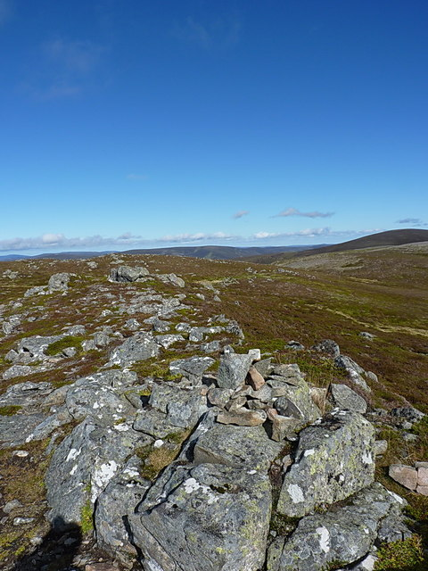 Another summit cairn on Carn Liath