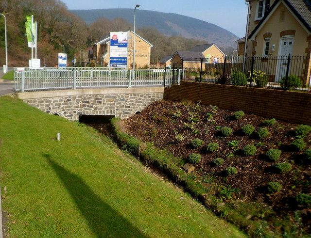 Bridge over Nant Cwm-clais, Cwmavon