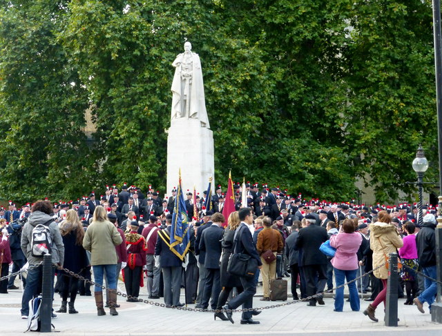 Demonstration in Abingdon Street, London