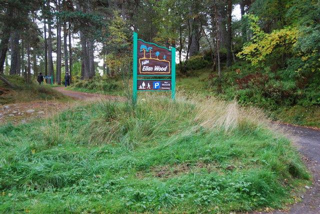 Ellan Wood picnic site