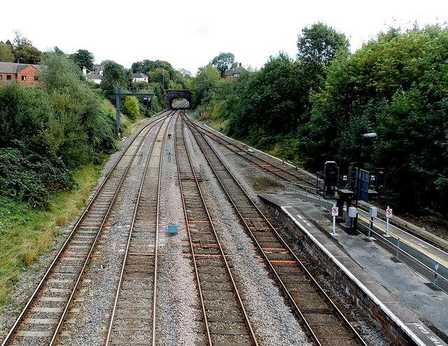 Railway between Victoria Road and King Street, Wellington