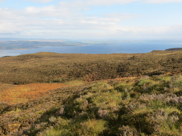 Moorland looking over towards Loch Fyne