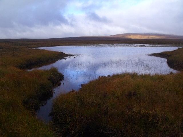 Loch an Fheoir near Crask Inn, Sutherland