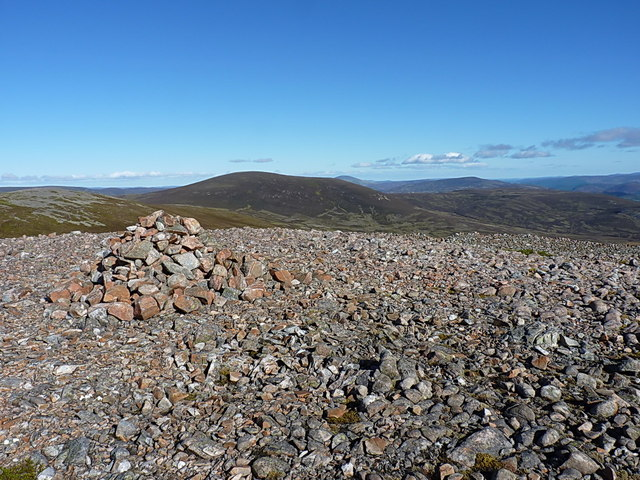 Culardoch from the southern cairn on Carn Liath