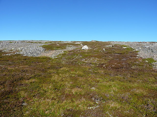 Uphill towards Carn Liath