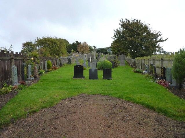 Balmerino cemetery