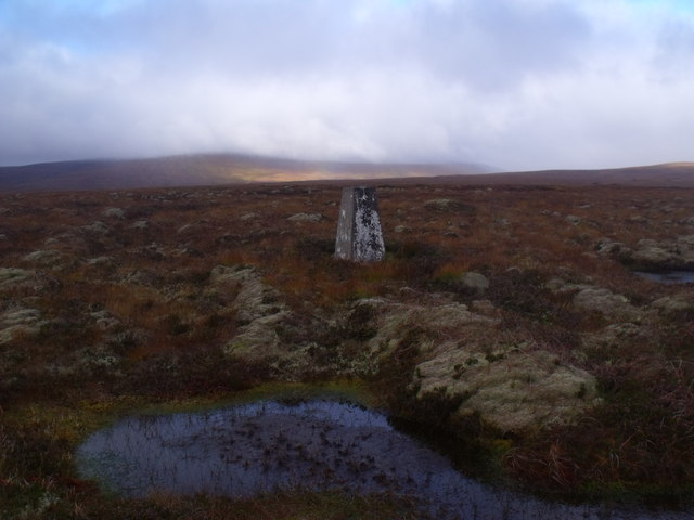 Summit area of Cnoc an Alaskie near Crask Inn, Sutherland