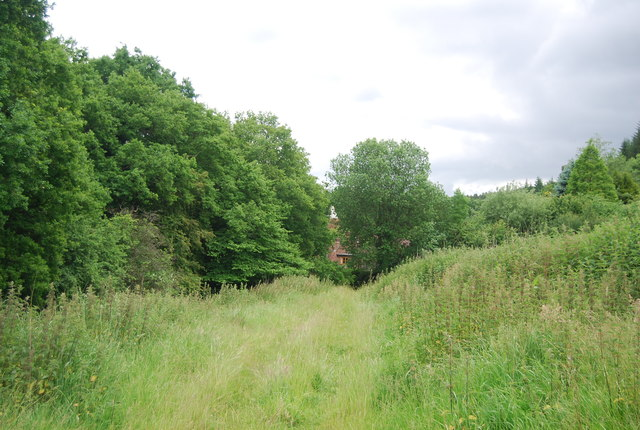Footpath to Glazier Farm