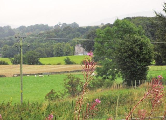 Looking towards Closeburn Castle