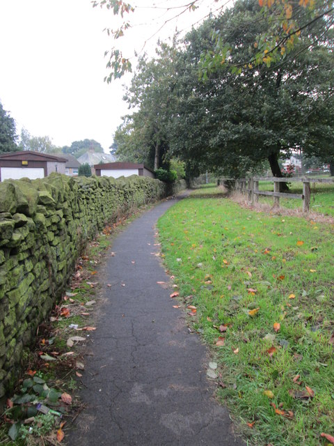 Footpath - top of Brickfield Lane