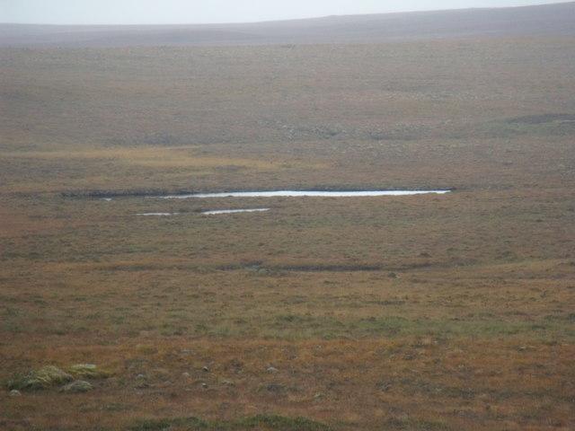 Large lochan west of Cnoc an Fheor Mhaol near Crask Inn, Sutherland