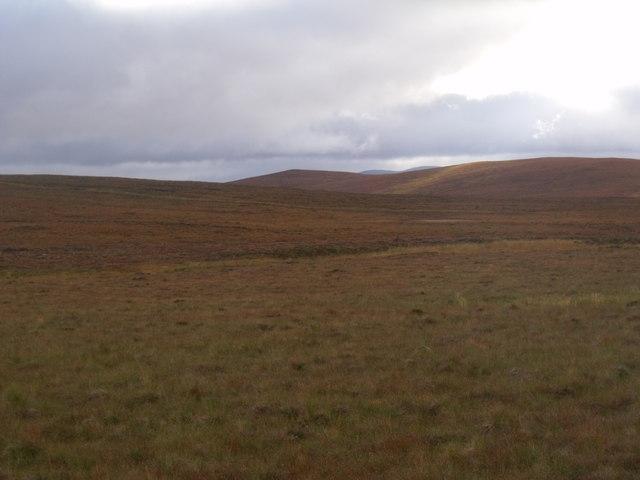 West of Cnoc an Fheor Mhaol near Crask Inn, Sutherland
