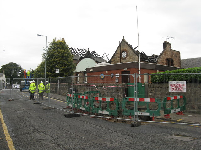 Bowling club building in Corstorphine